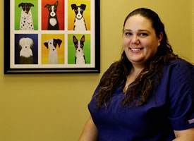 Danielle, veterinary assistant