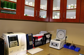 pharmacy lab